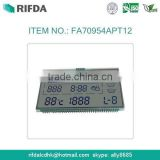 custom character lcd display screen for temperature and humidity 5.0V