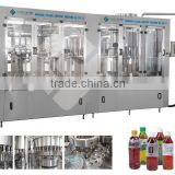 fruit flesh juice filling machine rinser/pulp filler/juice filler/ capper 4in1 monoblock hot filler mahine