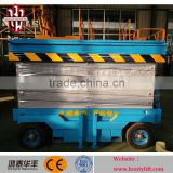 6m 300kg CE mobile hydraulic electric scissor lift scaffold lift manufacturer from China