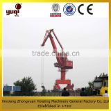 hot sale span winch Portal slewing crane