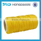 Bright Color durable 3mm nylon braided cord