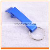Aluminum Bottle and Can Opener with Keychain, Custom Bottle Opener For Promotion,metal bottle opener