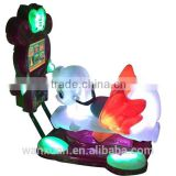 Blowing Bubbles Two Seats Kids coin Operated Game Machine
