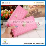 2016 wholesale new trendy crown woman wallet china