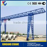 MH Model Single Beam Small Mobile Truss-type Light Duty Remote Control Rail Gantry Crane Price
