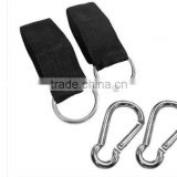 Travel Hammock Straps - Hammock Hanging Straps - UltraLite Tree Straps BLACK