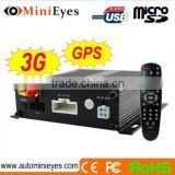 surveillance systems 3G+GPS hdd 4 Channel black box Car+Truck+Bus video surveillance system