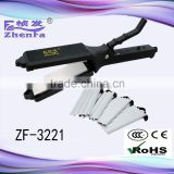 Barber shop hair straightener professional hair salon equipment for curler and straightener ZF-3221