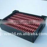 pp corrugated sheet ESD BOX With red foam