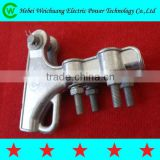 Used for overhead power line fittings NLL type aluminium alloy tension clamp / strain clamp