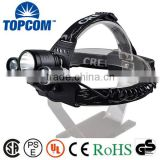 TD257 Rechargeable 5000Lumen XM-L 3 x T6 LED Headlight Light Headlamp Flashlight Head Lamp                                                                         Quality Choice
