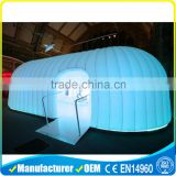 popular LED inflatable dome inflatable party tent inflatable tent inflatable double-layer tent for sale