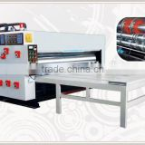 [RD-SB1500-3000-3] Semi-automatic chain feeding cardboard flexo ink printer slotter machine with 3 color
