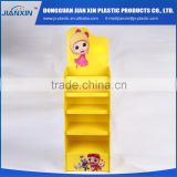 Factory made OEM plastic gift card balloon display stand