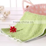 40*40cm square quick-dry duplex Bambo Fiber Towel solid textile washcloth face body hair sided