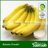 Freeze Dried Organic Banana Fruit Powder in Bulk Supply