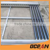 heat pipe type solar collectors with evacuated glass tubes and aluminum fin and copper heat pipe                                                                         Quality Choice