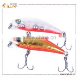 ILURE New Product Bass Lure Minnow Swim Bait Hard Plastic Lure