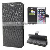 New Arrival For iPhone 6/6s Diamond Wallet Leather Case Cover