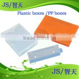 plastic boxes w/o custom printed logo for stationery, plastic sheet with printing, Dongguan factory