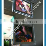 A4 A3 Size Photography Light Box Window Display Acrylic LED Light Real Estate Window Display