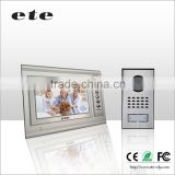 7 inch 12v Power smart door bell IP peephole camera with Aluminum alloy panel                                                                         Quality Choice