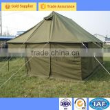 Hot-dip galvanized steel pole Pole Material army canvas tent
