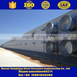 steel structure farm broiler poultry house shed construction design chicken house                                                                         Quality Choice