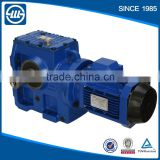 Helical worm gear motor S series gear reducer reduction gearbox                                                                         Quality Choice