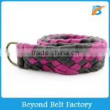 Women's Fashion Cotton Tape Braided Woven Belt
