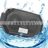 IP66 Bluetooth Speaker Portable Waterproof Wireless Outdoor & Shower Speaker, Bluetooth CRS 4.0 Stereo with Built-in Mic Black