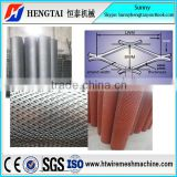 Aluminum Expanded Metal Mesh Fence Machine/High Quality Expanded Metal Wire Mesh Machine