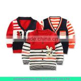 100%cashmere and new style baby boy sweater designs
