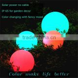 Hot sale RGB LED SMD longger working time power saving glow in the dark golf ball