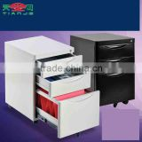 TJG Taiwan Large Movable Drawer Cabinet Type 3 Drawer Metal File Cabinet Wholesale Price