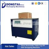 Carton Box High Table Strapping Machine