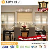 Window blind roller privacy paint zebra blind fabric