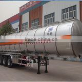 factory sales 45 cbm lpg tanker gas tank semi trailer with all acessory