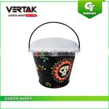 Trade Assurance Limit member Eco-friendly Galvanized buckets Galvanized pail with handle Metal bucket