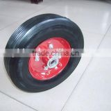 Solid rubber tyre tire 10 inches Airless wheel for tool carts Kid carts wheel non-inflatable