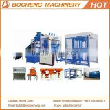 Interlocking Block Making Machines QT12-15 Automatic Cement Block Machine With Wood Pallet