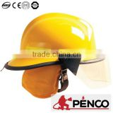 American style construction protective industrial safety fire equipment fireman firefighter china 3 M refective helmet