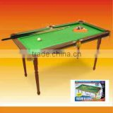 mini wooden billiard table (pool table)