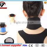 2016 Shuoyang Hot Selling Magnetic neck wrap tourmaline self-heating neck support pain relief thermal therapy medical neck brace