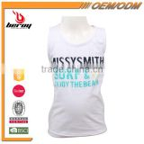 BEROY Branded 100% Cotton Kids Sleeveless Vest with Custom Printing