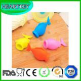 4PCS Egg Separator Fish Separate Egg Whites and Yoke,Silicone Squeeze Fish Lips Swallow Release Egg Separator Cooking and Baking Tool,Separating Chicken Egg Yolks