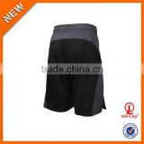 Orange black men shorts/special color 65% polyester 35% cotton sublimation embroidered basketball shorts