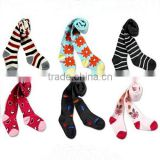 100%cotton baby knitting tights for girls