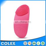 USB Rechargeable Silicone Facial Cleansing Brush Waterproof Sonic Face Cleanser