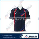 custom sublimation collar polo shirts nice Cheap sports polo shirts good quality poloshirts